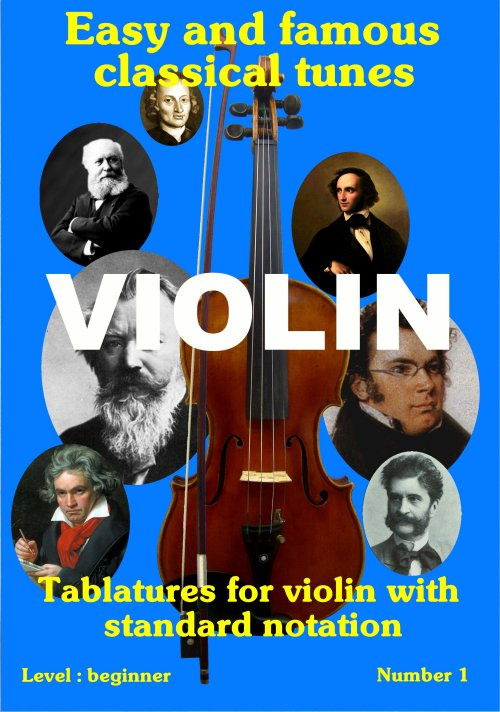 Famous classical tunes for violin
