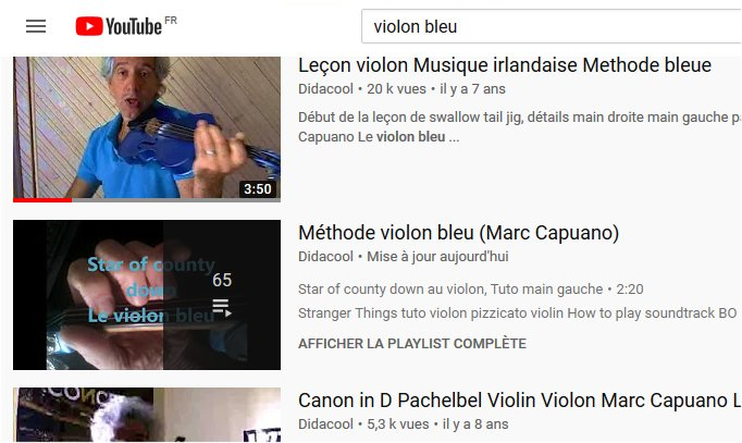 Violin lessons on youtube